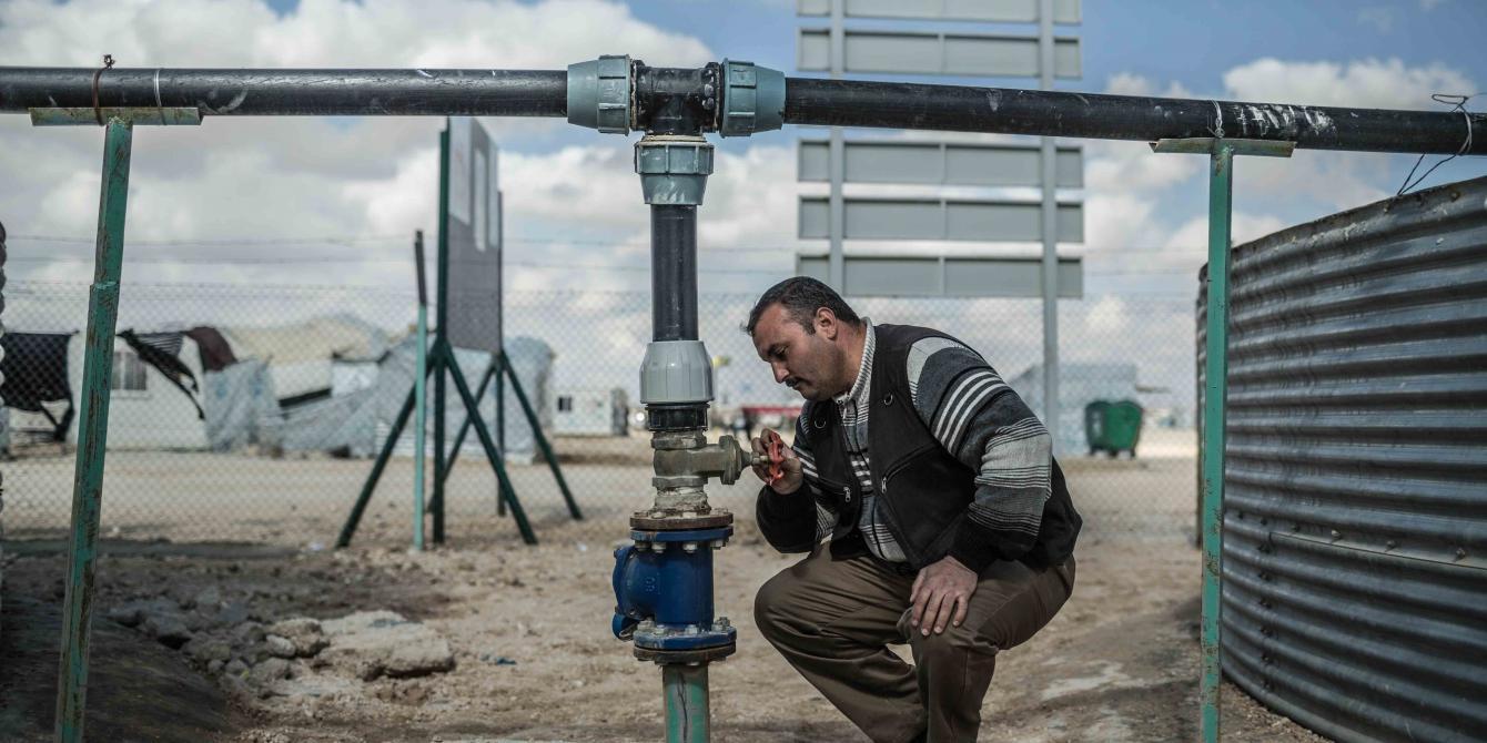 مشروع  المياه زعتري