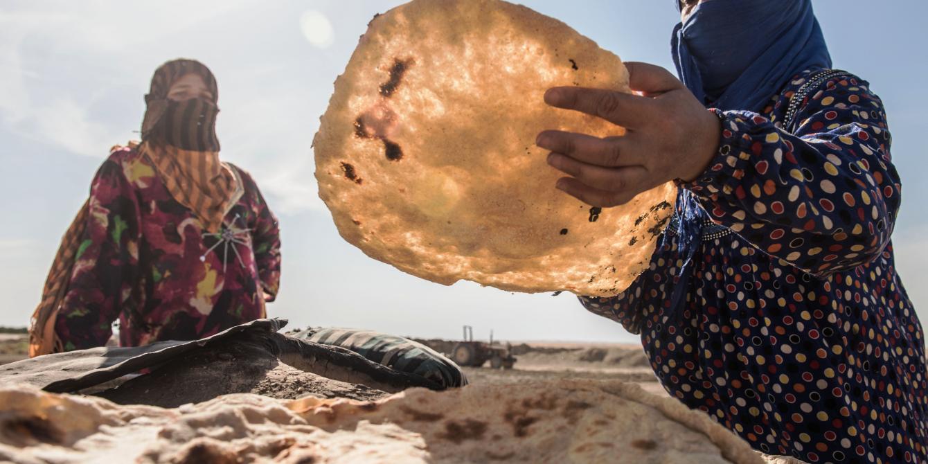"""النساء، والسلام، والأمن في منطقة """"الشرق الأوسط وشمال أفريقيا"""""""