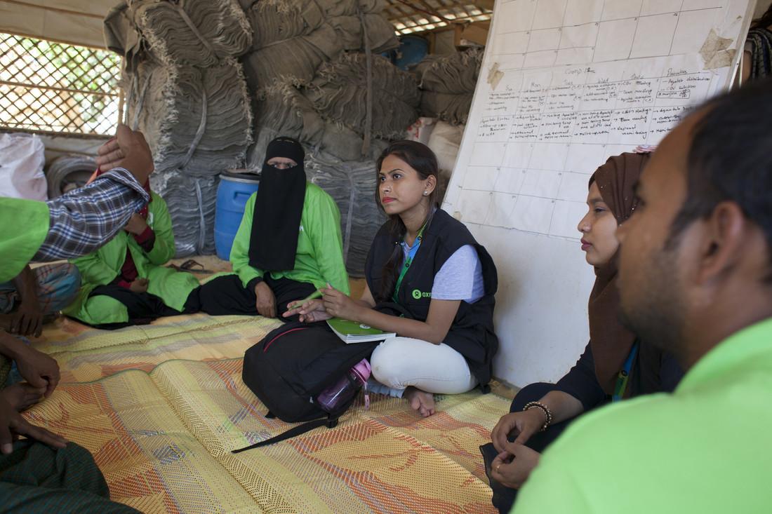 Oxfam in Asia - Bangladesh - Rohingya crisis - Humanitarian worker 2