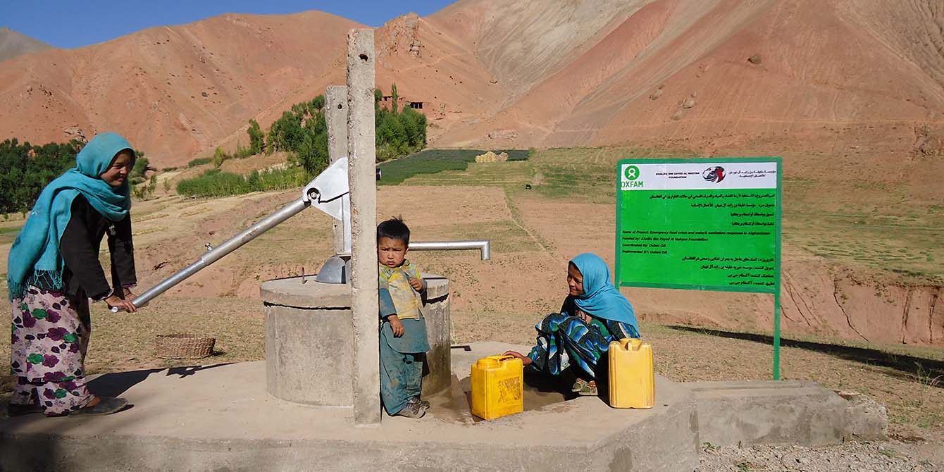 Oxfam in Asia - Afghanistan - Humanitarian