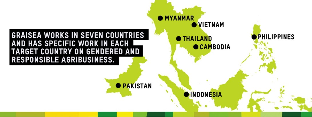 Oxfam in Asia - Gender Transformative and Responsible Business Investment in Southeast Asia - GRAISEA - Countries