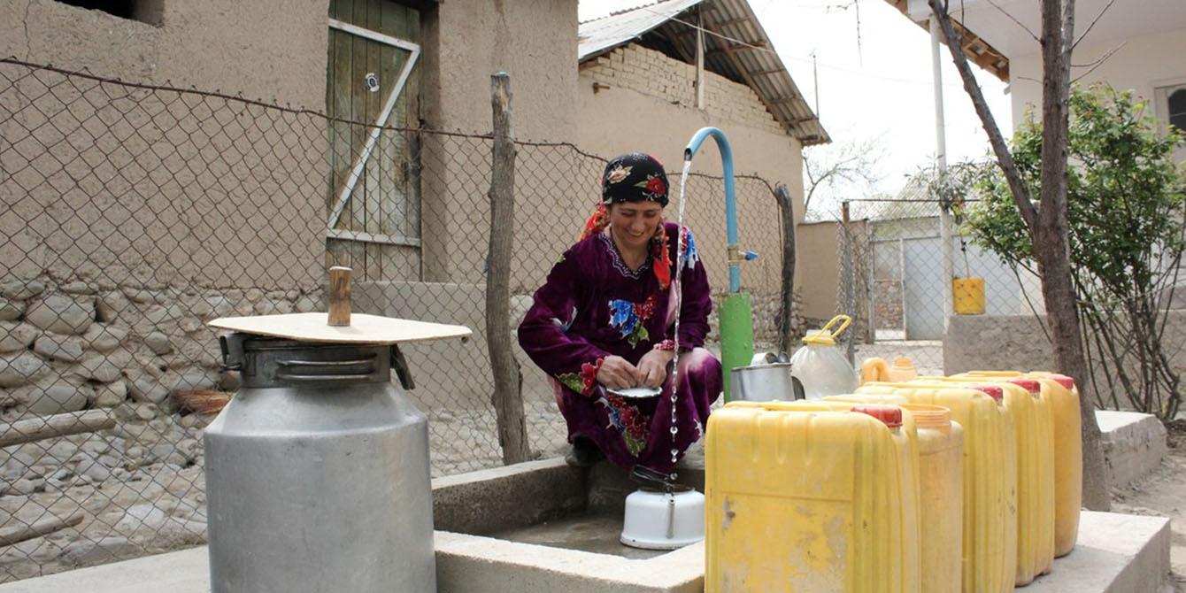 Oxfam in Asia - Tajikistan - Water Sanitation and Hygiene WASH