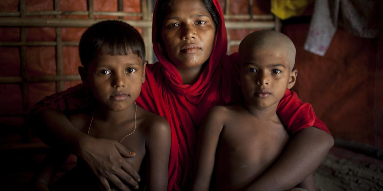 Oxfam in Asia - Vital aid needed to protect Rohingya women refugees
