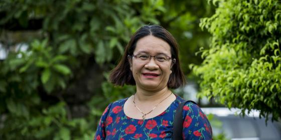 Nguyen Thi Khanh - 2018 Goldman Environmental Prize winner