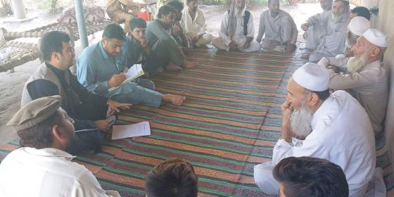 A Focus Group Discussion in Kunduz