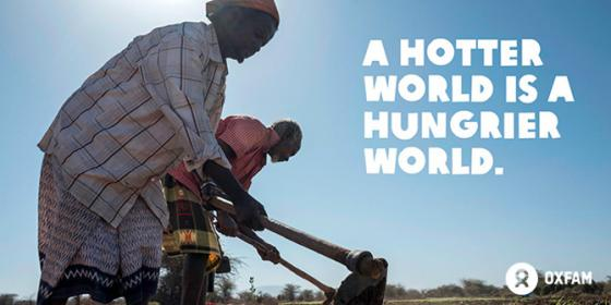 Hotter hungrier world - Oxfam