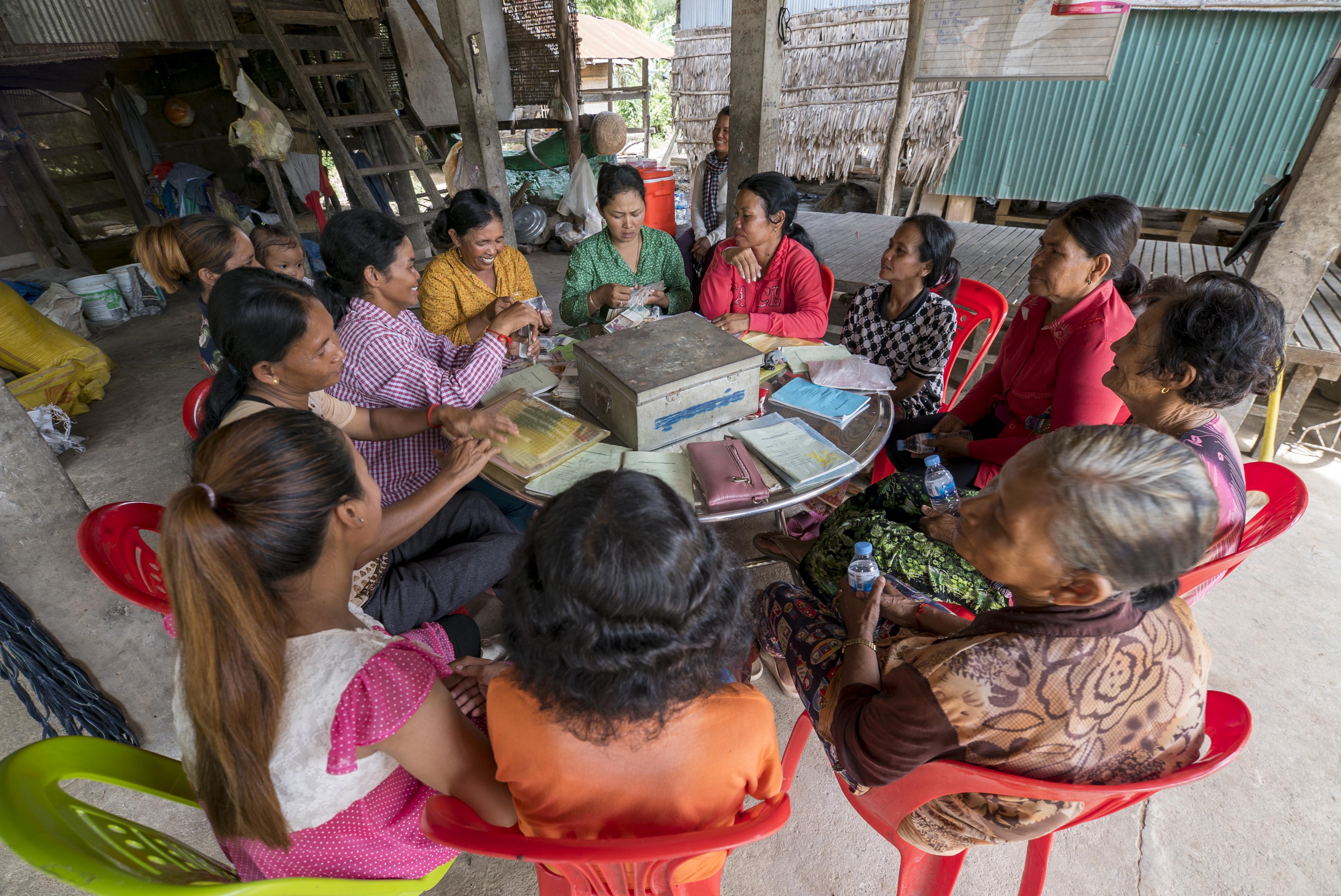Innovative farming, saving group