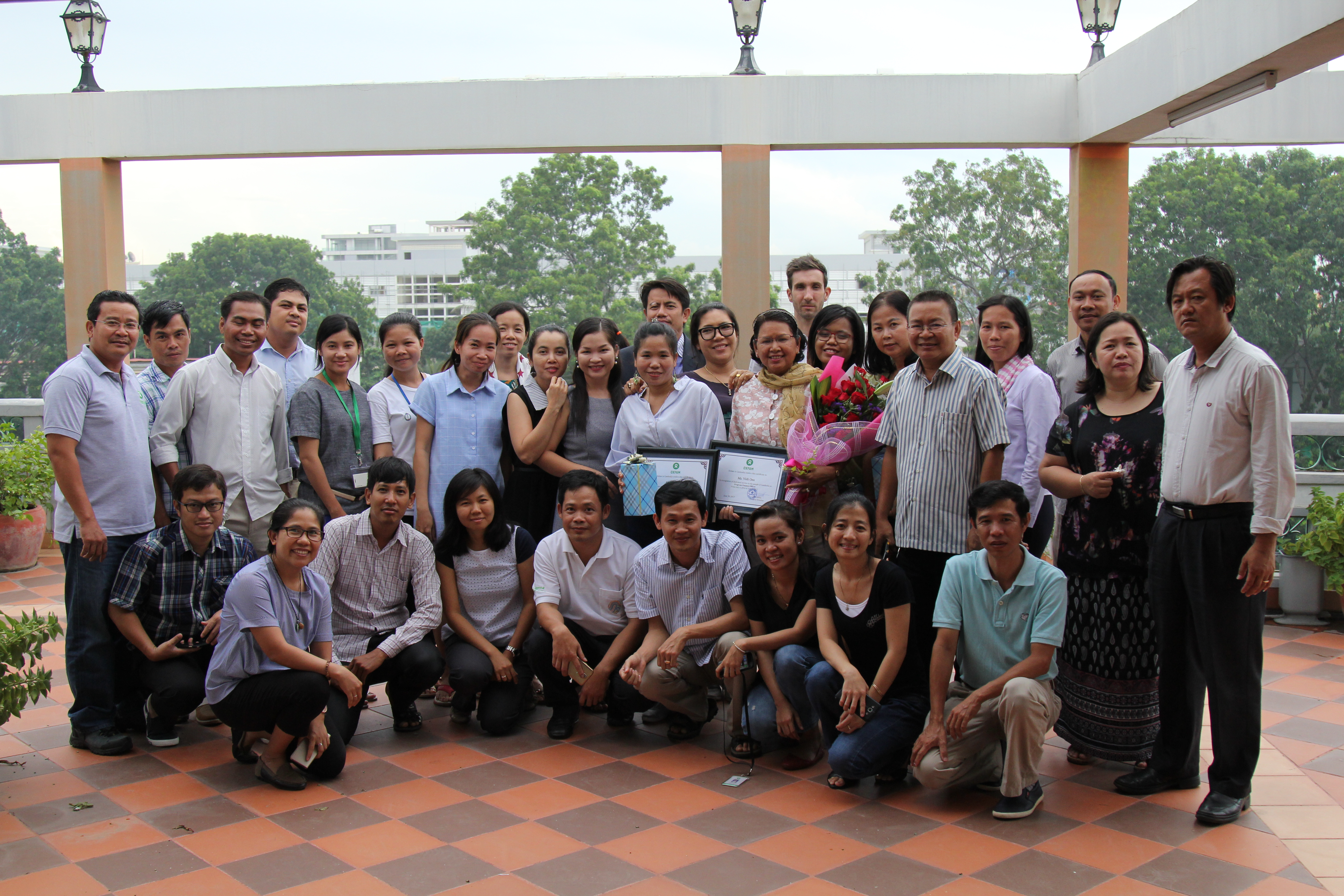 Onn's 25-year with oxfam