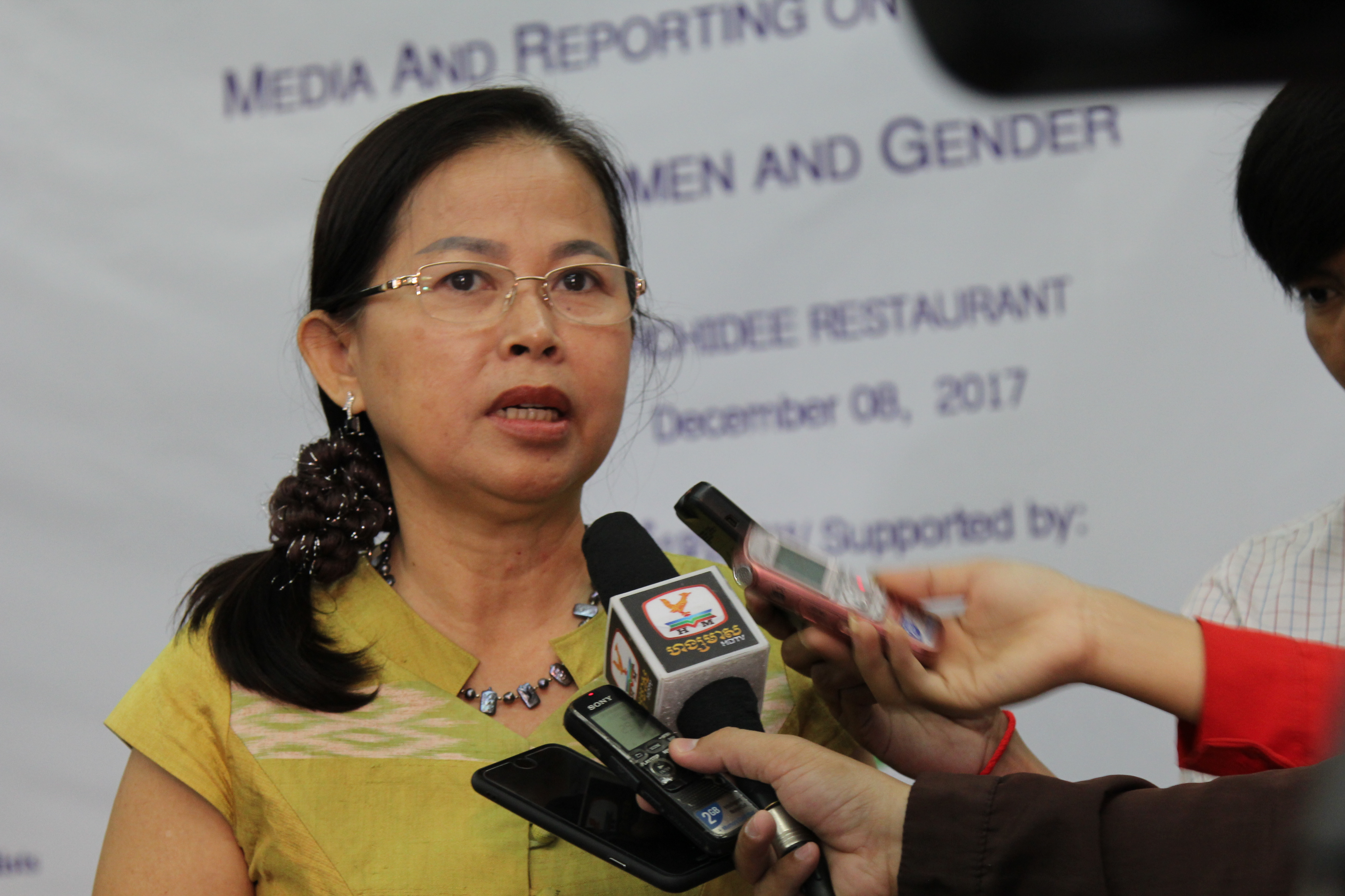 Media workshop, reporting on violence against women and girls