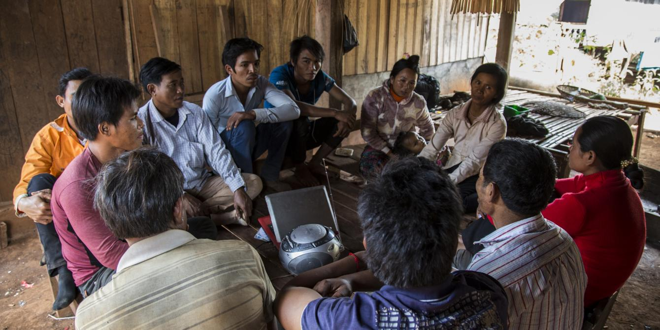 With the support from Oxfam through PEM project, listening and dialogue clubs have been established in indigenous communities across Rattanakiri province.