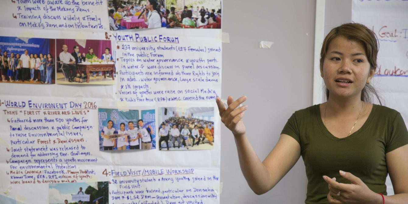 Tackling the Issues of Youth in the Mekong