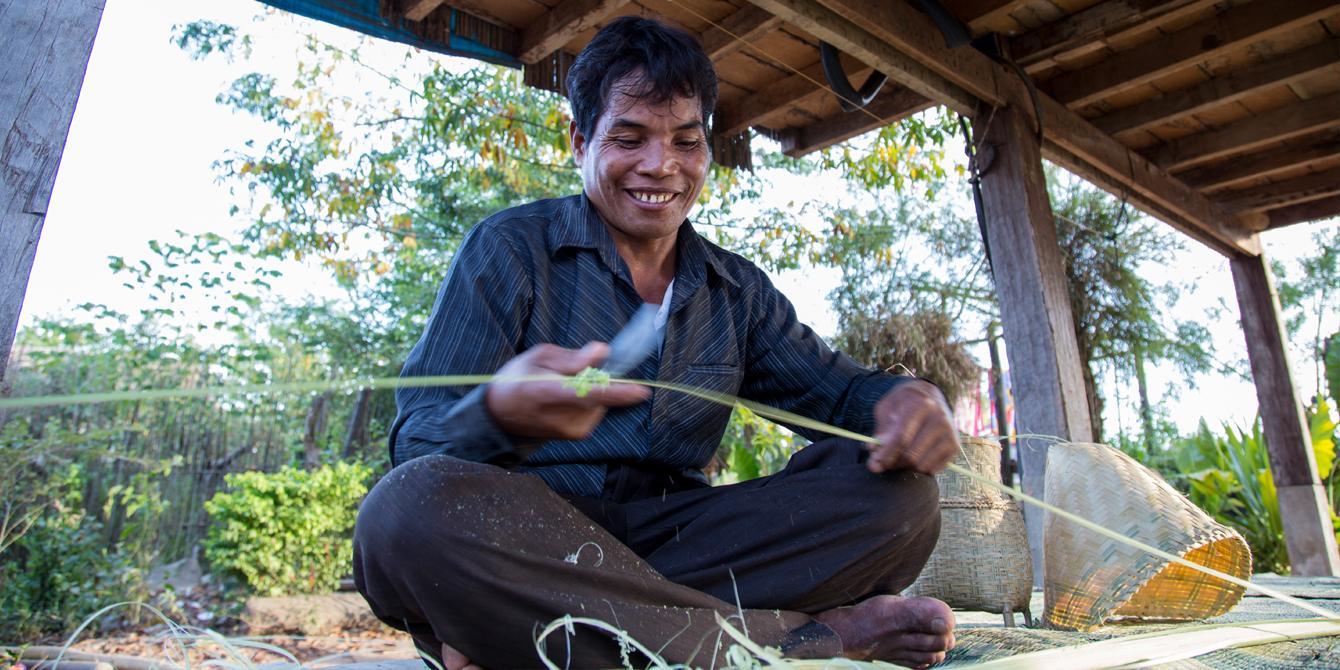 Bounhien, 45-year old farmer in Pakkayong village