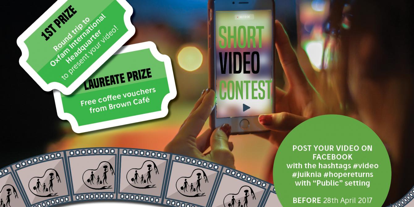Short Video Contest: Juiknia Migration Stories of Hope