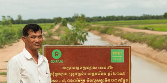 Oxfam Supports Cambodian Communities Adapt to The Impact of Climate Change