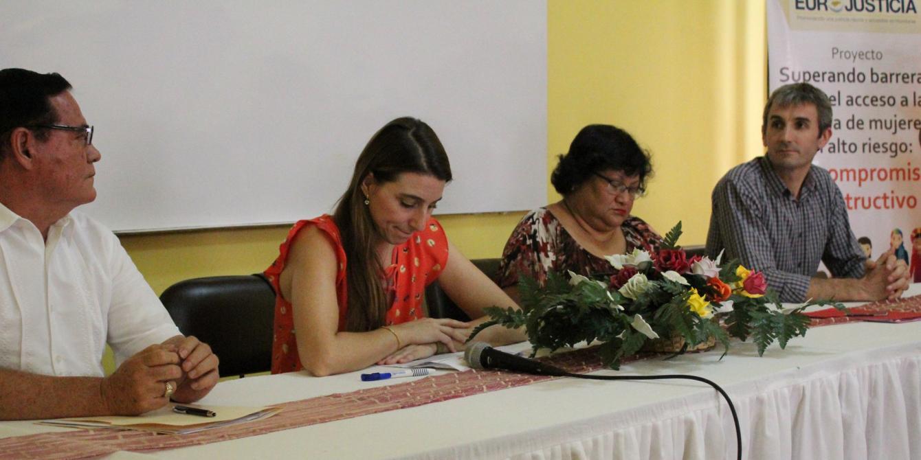 Oxfam y Asociación Calidad de Vida equipan Centro de Atención Integral para la Mujer en Choluteca. Foto: Karen Arita / Oxfam en Honduras