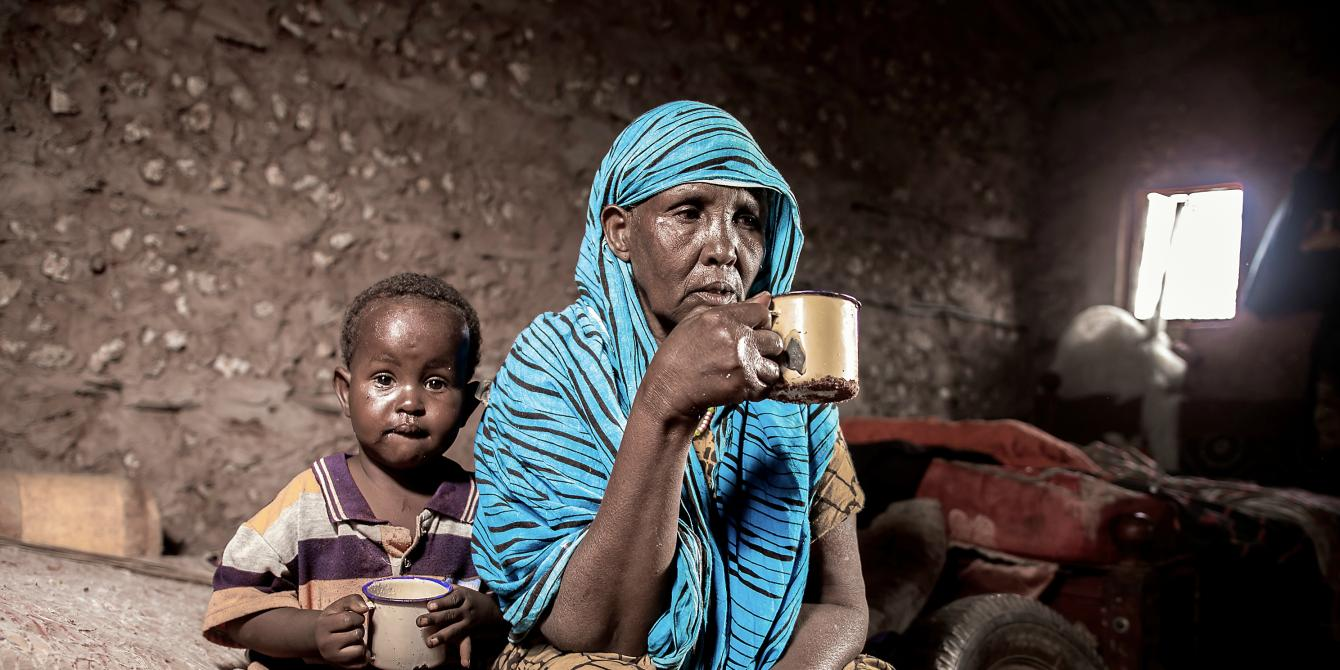Duda Ousman, 60, Dambas Wajir. Photo Credit: Joy Obuya