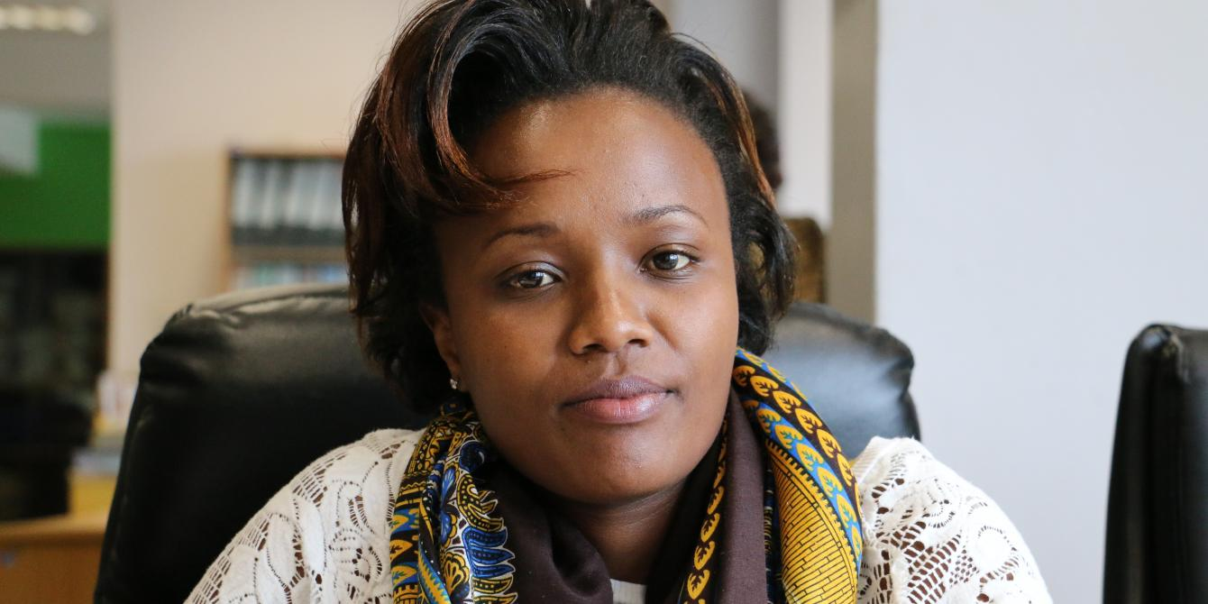 Joyce Kabue. Photo Credit/Kevin Wabung'o/Oxfam