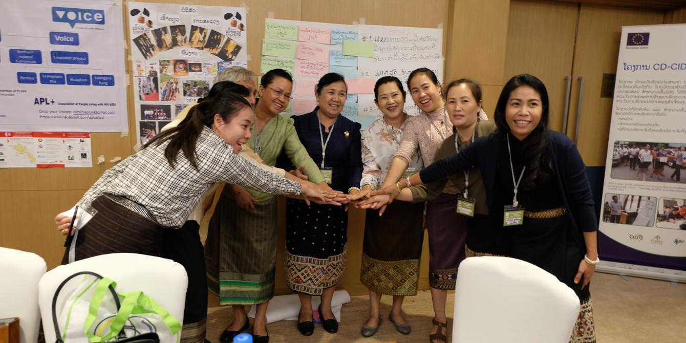 Partnerships workshop in Laos