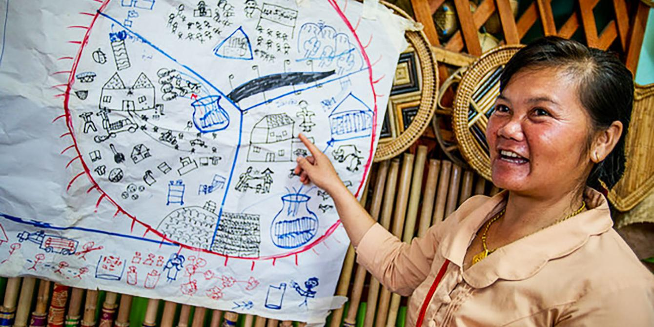 Ms. Chanpeng Sengmany, 38, of Ban Somsavath in Bokeo Province.