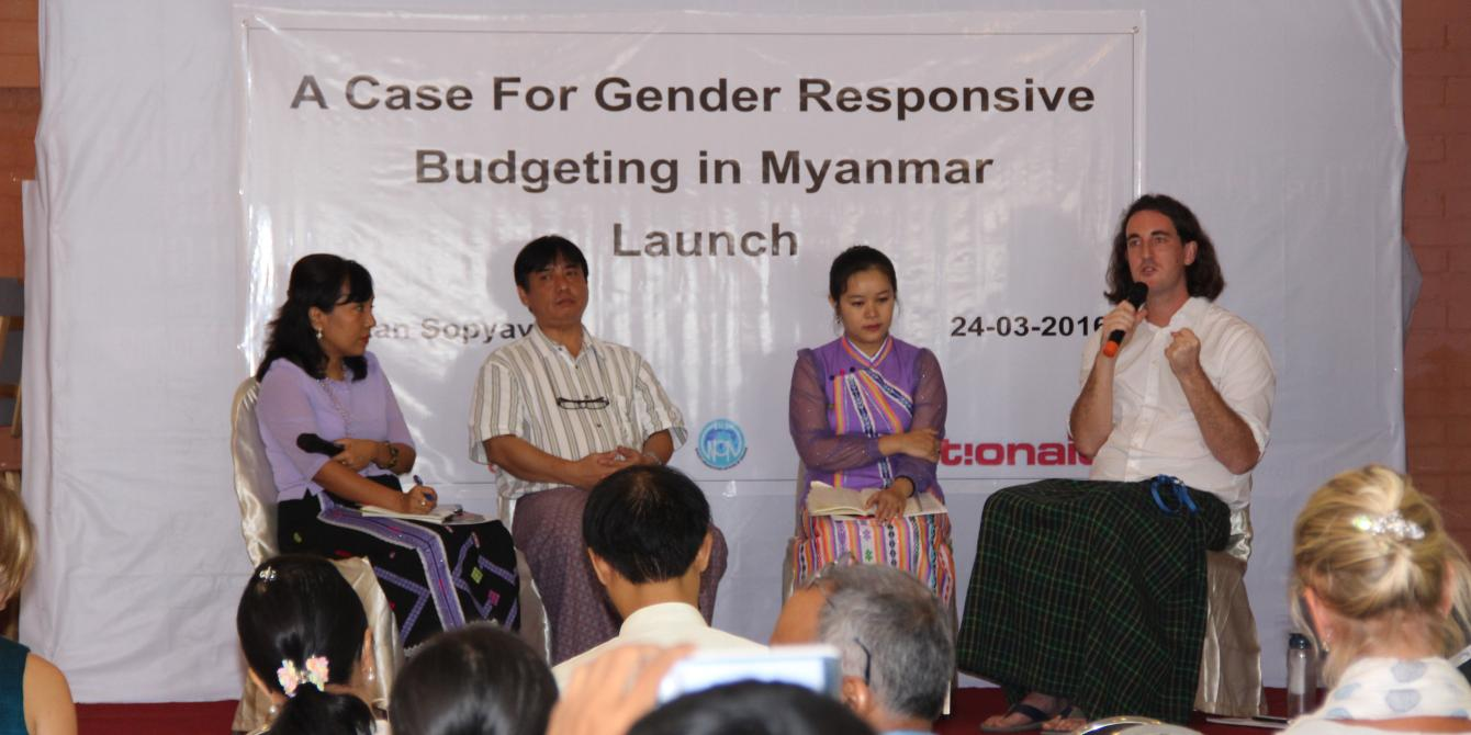 Panel Discussion about Gender Responsive Budgeting