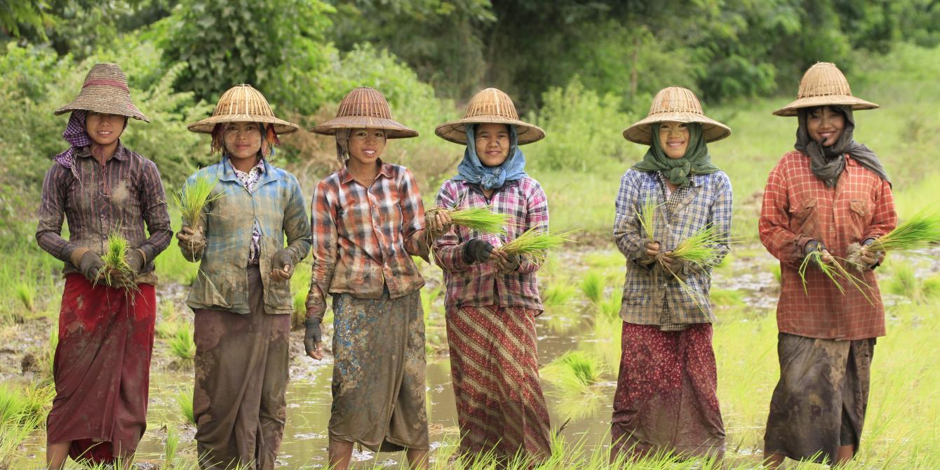 Women Farmers in Myanmar Dryzone, Photo by: Hein Latt Aung/ Oxfam