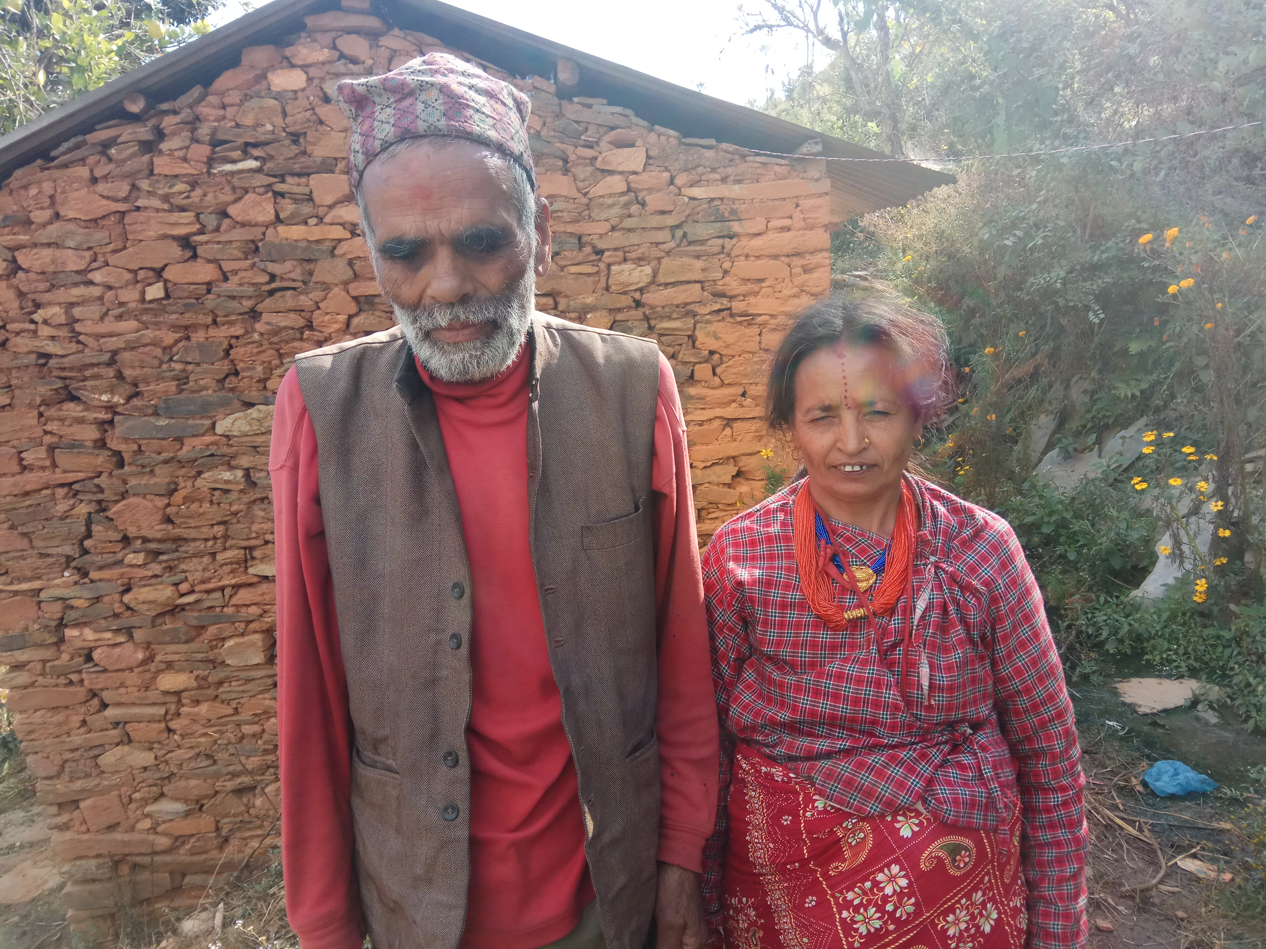 The visually impaired couple who are reviving their livelihood
