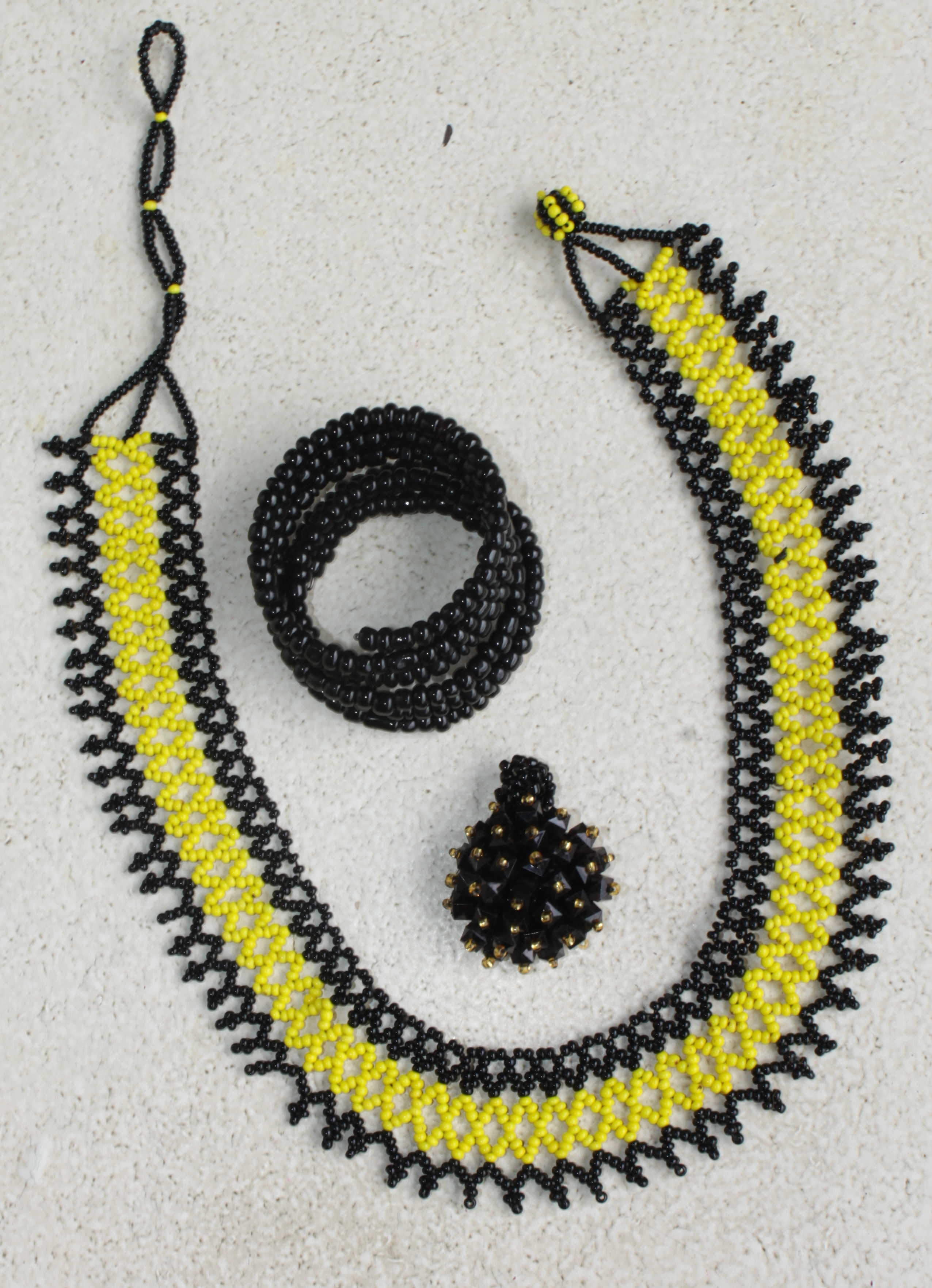 jewellery made by physically-challenged people