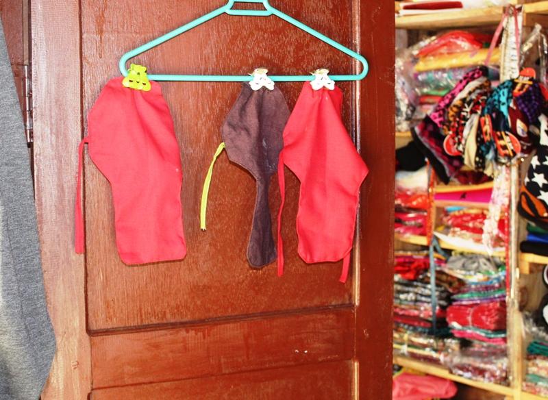 homemade sanitary napkins