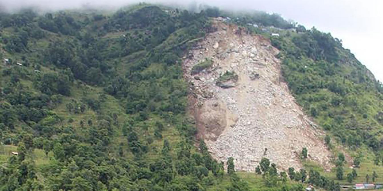 Dhading landslide