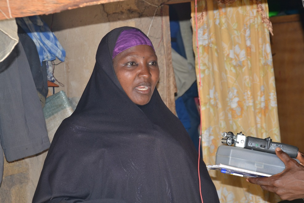 Lantana Aminu recounts her experience on exclusive breastfeeding.  Photo by Isaac Godwin/FAcE-PaM