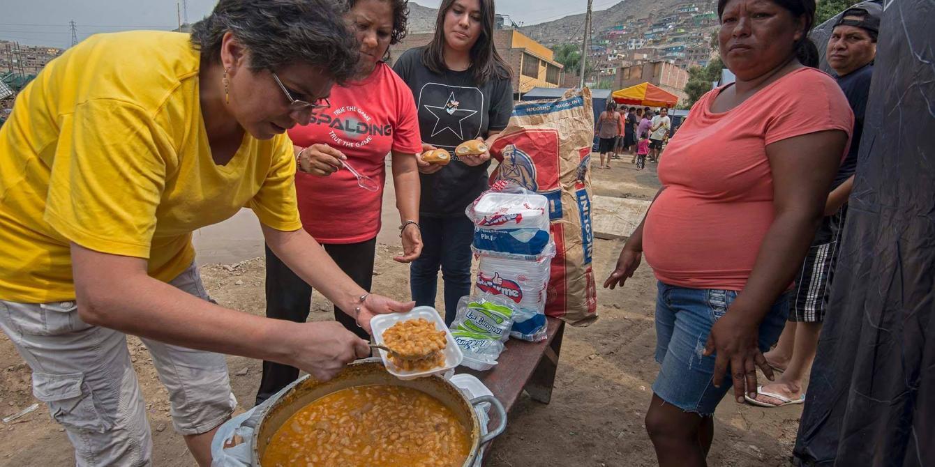 Carapongo: cientos de damnificados y damnificadas en carpas necesitan más ayuda