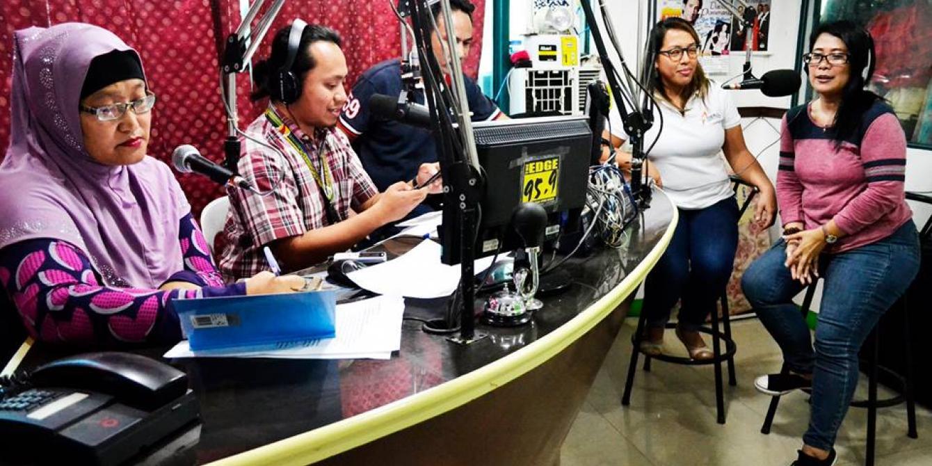 S'Bang Ka (Rise Up) Marawi radio show