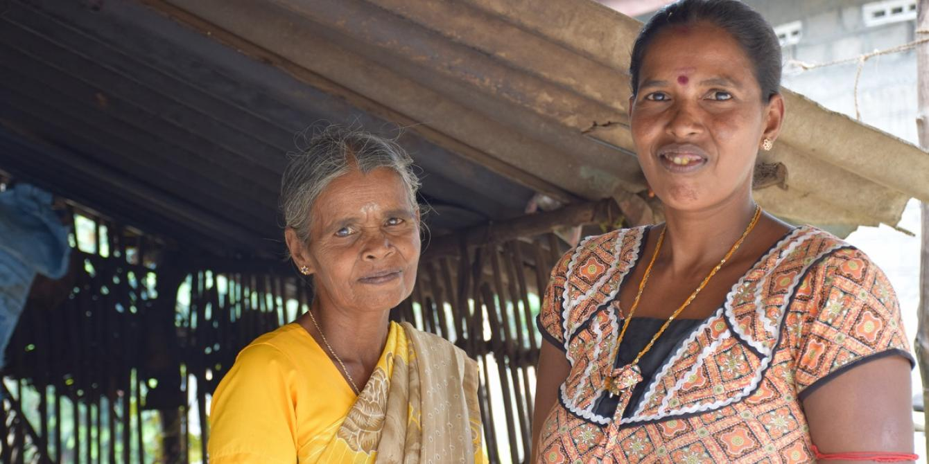 Women from Batticaloa now earn more by selling rice based products instead of unprocessed paddy. Photograph: Nipuna Kumbalathara/Oxfam